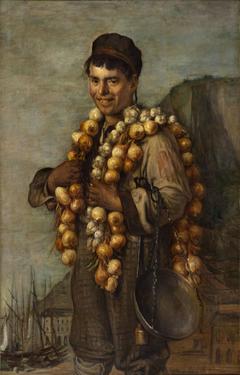 Le marchand d'oignons de la Riviera