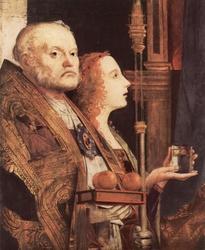 Left panel San Cassiano Altarpiece