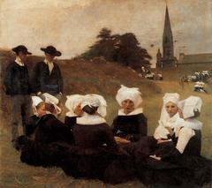 Les Bretonnes au Pardon