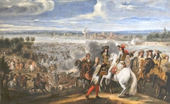 Louis XIV crossing the Rhine, 12th June 1672