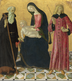 Madonna and Child with Saint Anthony Abbot and Saint Sigismund