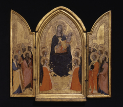 Madonna and Child with Saints (The Sterbini Triptych)