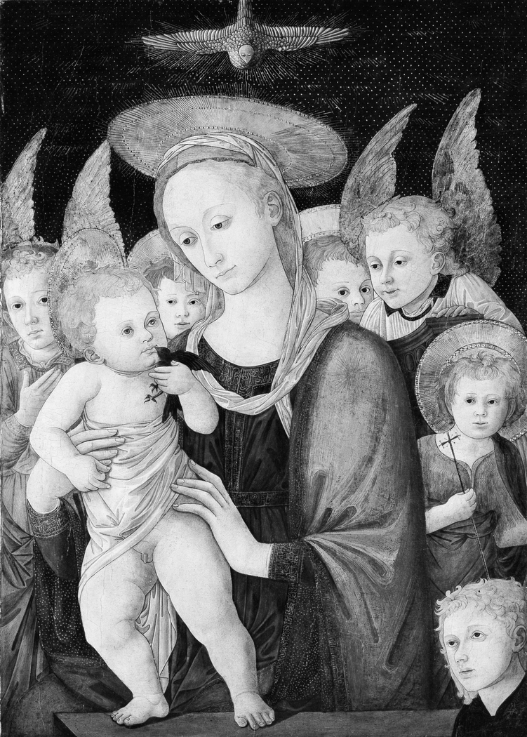 Madonna and Child with the Infant Saint John the Baptist and Angels
