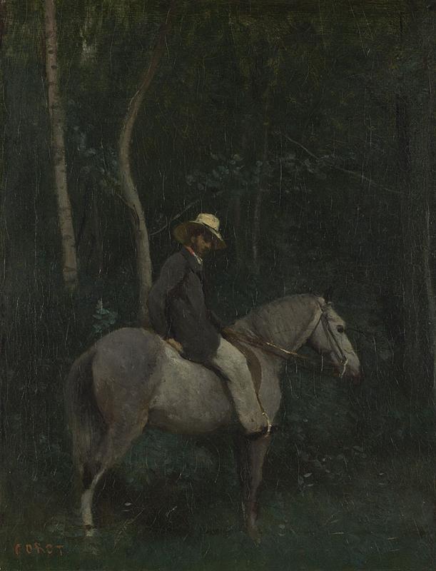 Monsieur Pivot on Horseback