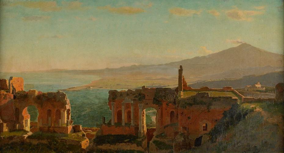 Mt. Aetna from Taormina