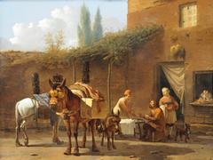 Muleteers at an Inn
