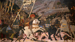 Niccolò Mauruzi da Tolentino at the Battle of San Romano