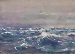 On the Steamer Bremen, off Nova Scotia, 1880