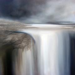 Paisaje nº 22 (la gran caida), Lanscape nº 22 (the big waterfall) (100 x 100 cm.)