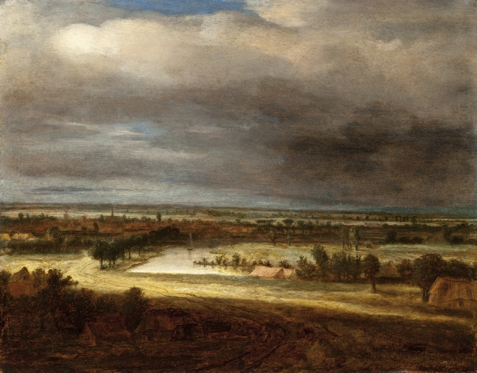 Panoramic Landscape with a Village