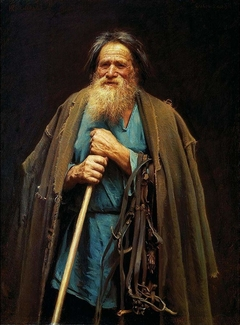 Peasant Holding a Bridle