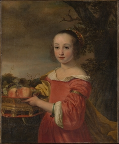 Petronella Elias (1648–1667) with a Basket of Fruit