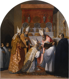 Pope Alexander III Consecrates Anthelm of Chignin as Bishop of Belley