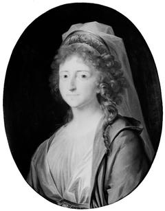 Portræt af Louise Augusta