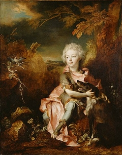 Portrait of a Boy in Fancy Dress