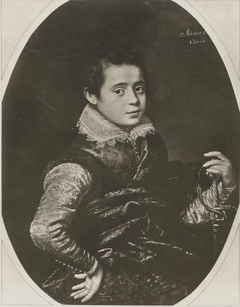 Portrait of a Boy with a Sword