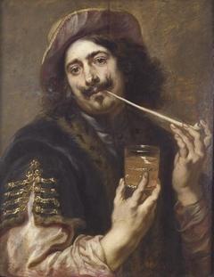 Portrait of a gentleman, said to be Adriaen Brouwer