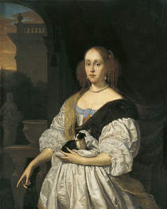 Portrait of a Lady with a Lapdog