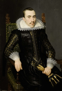 Portrait of a Man, possibly Walterus Fourmenois (A Man from the Boudaen Courten Family)