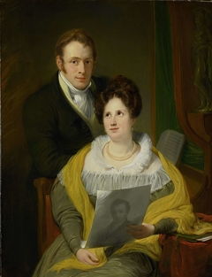 Portrait of a Woman and a Man