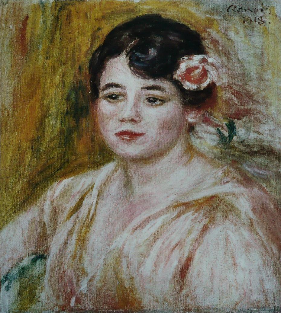 Portrait of Adèle Besson