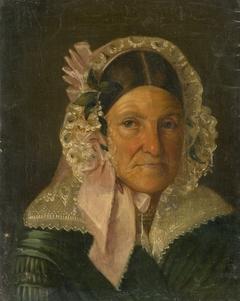 Portrait of an Older Woman in a Bonnet