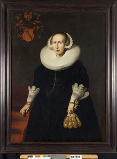 Portrait of Anna Hunthums (1595-1639), wife of Wemberich van Berchem