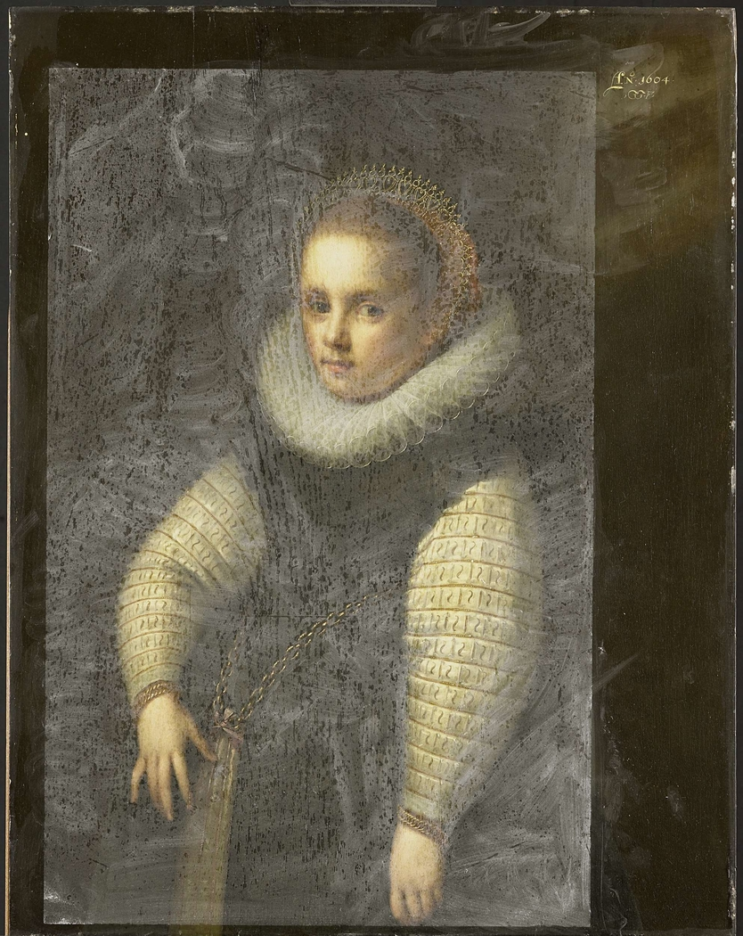 Portrait of Catharina Fourmenois as a Child, later Wife of Pieter Boudaen Courten