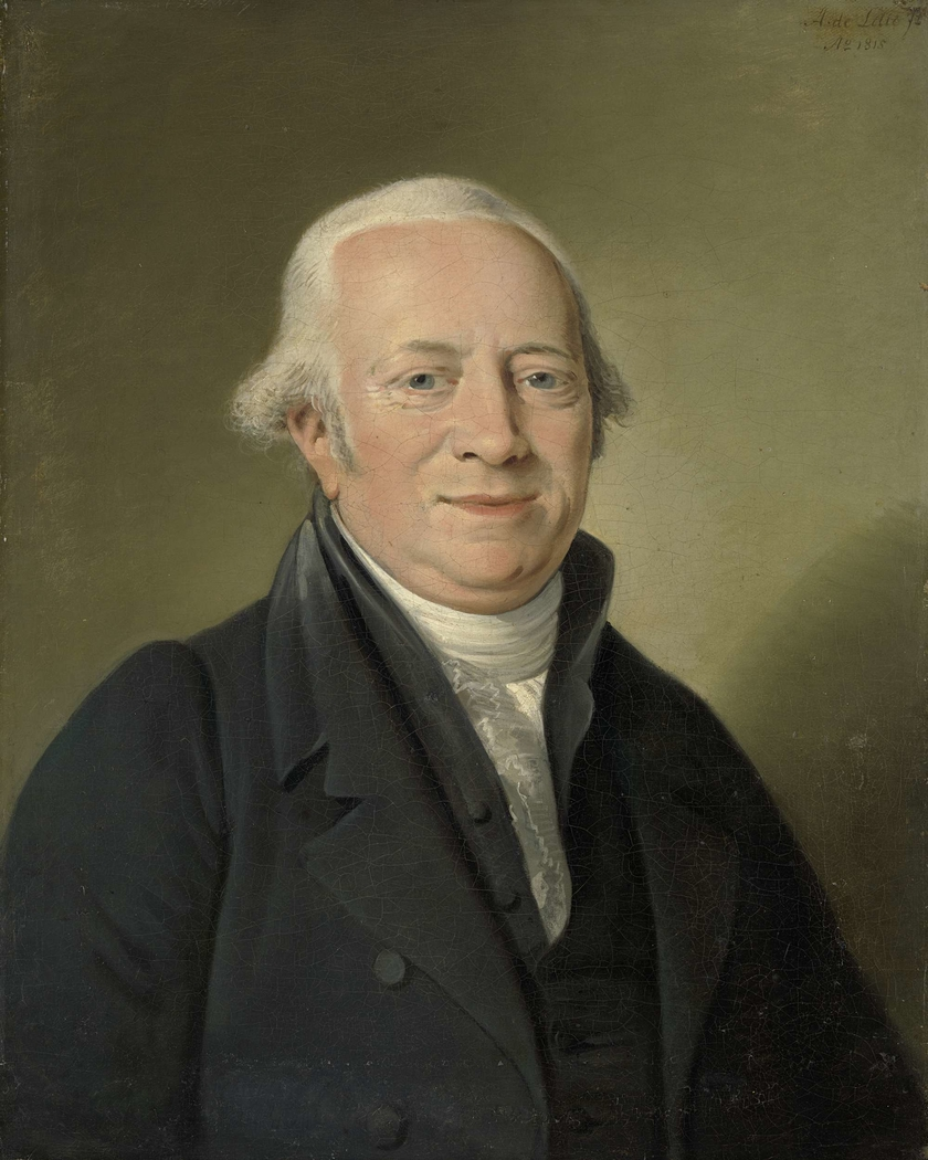 Portrait of Cornelis Sebille Roos, Art Dealer in Amsterdam and Inspector of the National Konst-Gallery and the Huis ten Bosch in The Hague