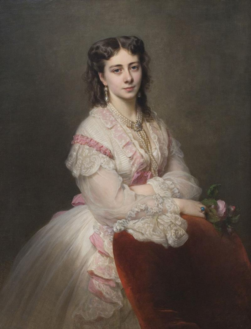 Portrait of Countess Marie Branicka de Bialacerkiew (née Princess Sapicka)