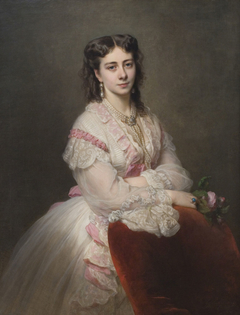 Portrait of Countess Marie Branicka de Bialacerkiew (née Princess Sapicka)