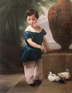 Portrait of Don Giulio Vigoni child