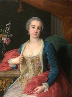 Portrait of Duchess Sforza Cesarini  (d.1765)
