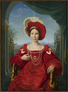 Portrait of Electress Augusta of Prussia.