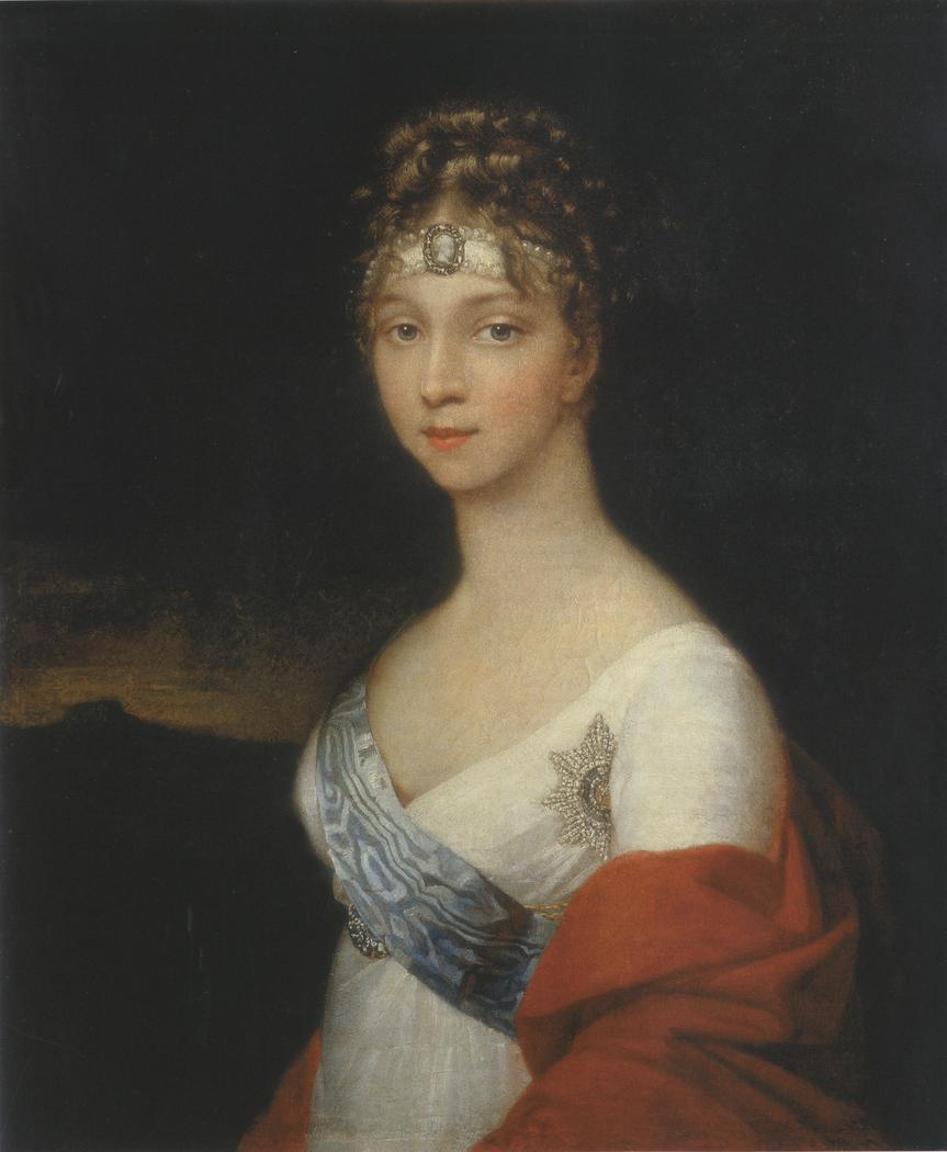 Portrait of Empress Elizaveta Alekseevna