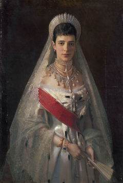 Portrait of Empress Maria Feodorovna