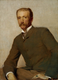 Portrait of Frank Hamilton Cushing