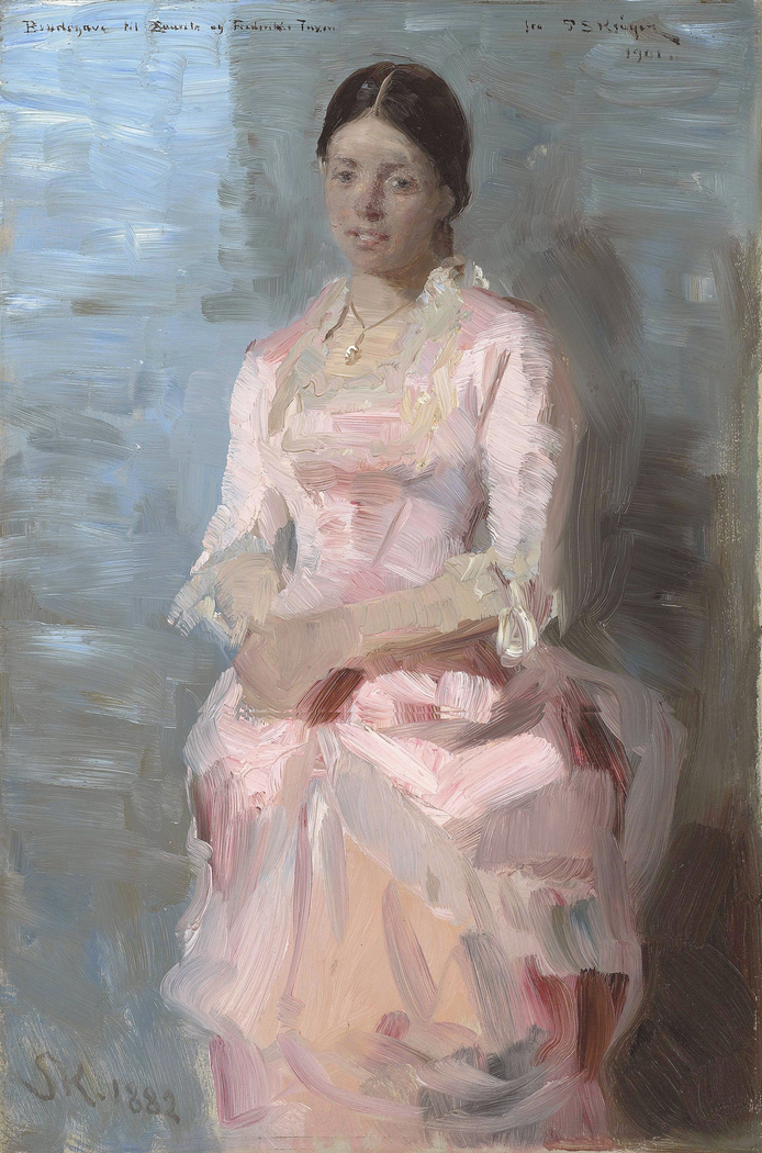 Portrait of Frederikke Tuxen