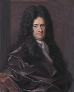 Portrait of Gottfried Wilhelm Leibniz