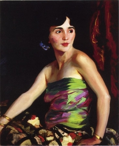 Portrait of Isolina Maldonado, Spanish Dancer