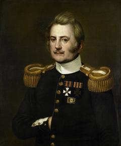 Portrait of J D B Wilkens, Lieutenant-Colonel in the Infantry