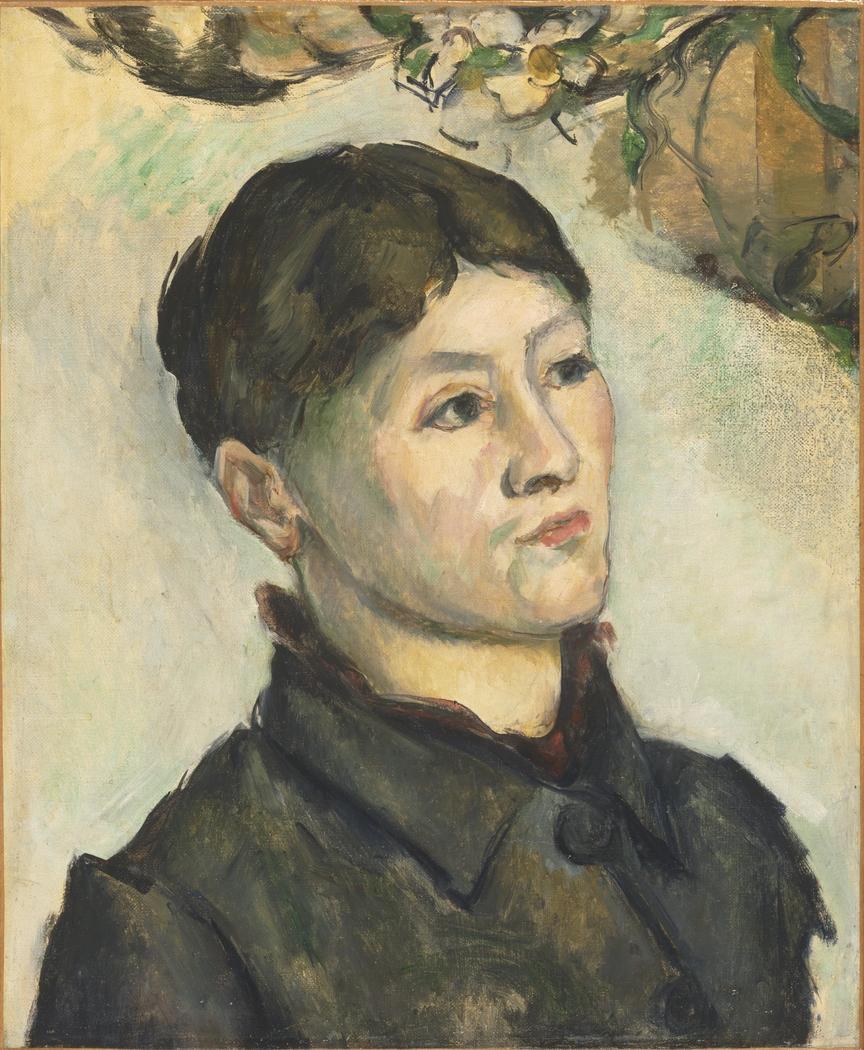 Portrait of Madame Cézanne