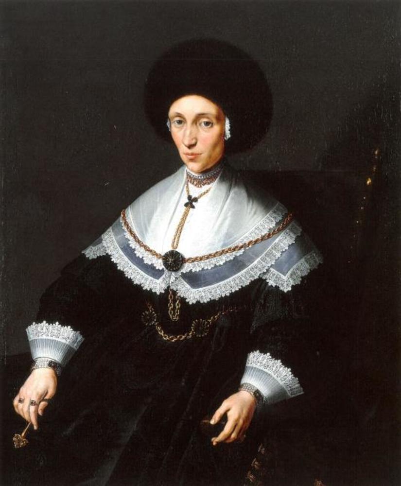 Portrait of Maria Salome von Stalburg (1602-1646), Wife of Johann Maximilian zum Jungen