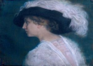 Portrait of Mrs. Stefka Gueorgieva Otmarova