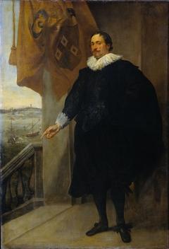 Portrait of Nicolaes van der Borght. Merchant of Antwerp
