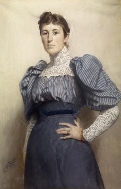 Portrait of Nini Roll Anker (Nicoline Magdalene)