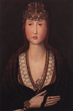 Portrait of Princess Saint Joana