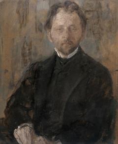 Portrait of the sculptor Jan Szczepkowski