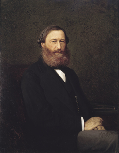 Portrait of the writer Y.F. Samarin