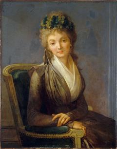 Portrait présumé de Lucile Desmoulins (1771-1794)
